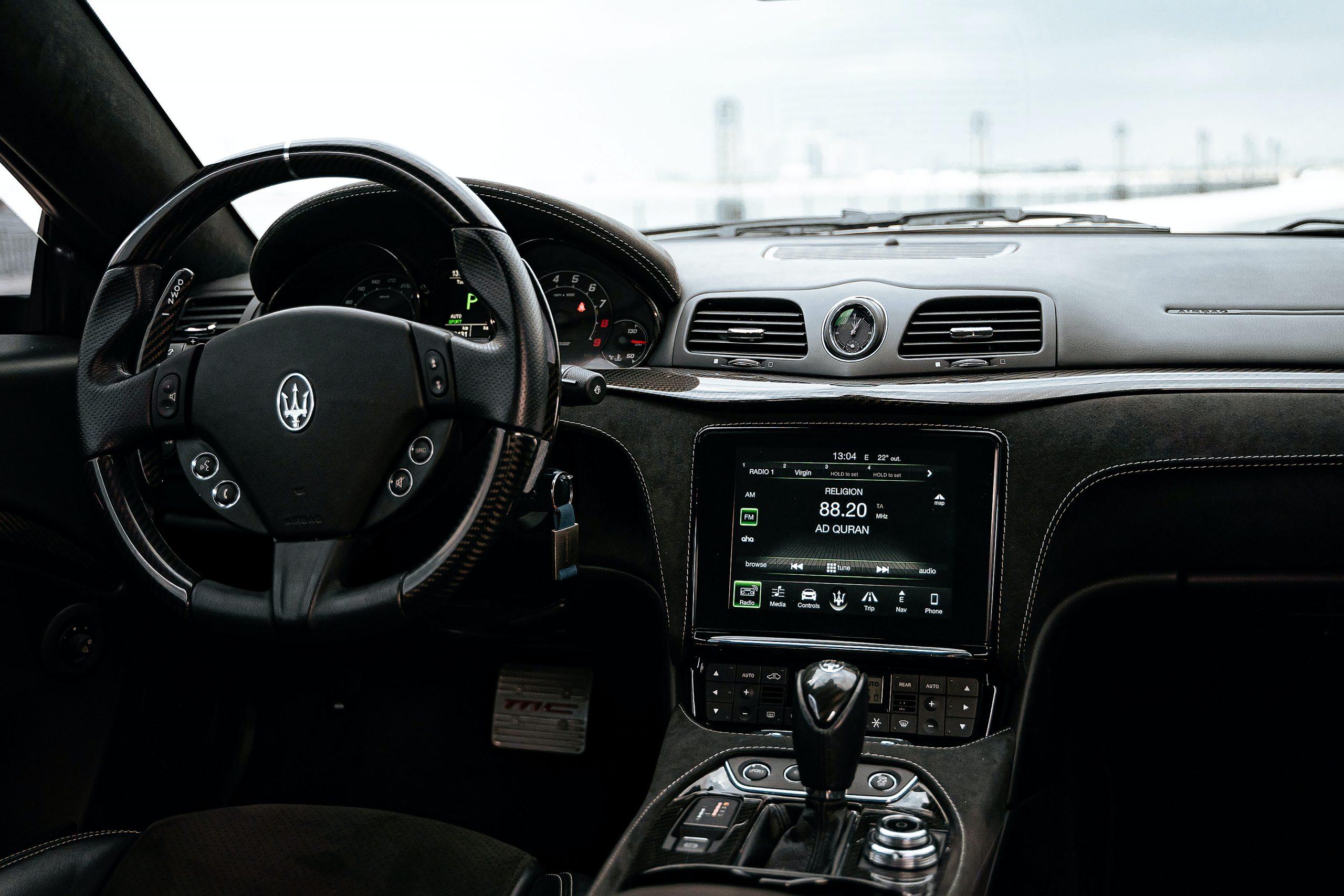 Maserati mc stradale interior Masparts